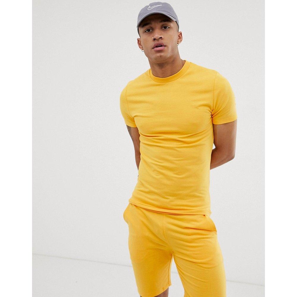 Survêtement - Sweat-shirt moulant et short ajusté - ASOS DESIGN - Modalova