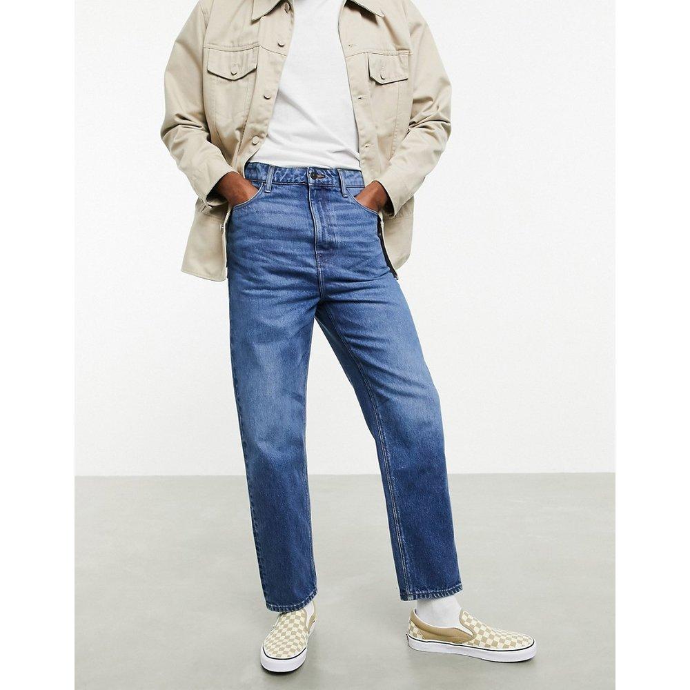 Sustainable - Jean taille haute - délavage moyen - ASOS DESIGN - Modalova