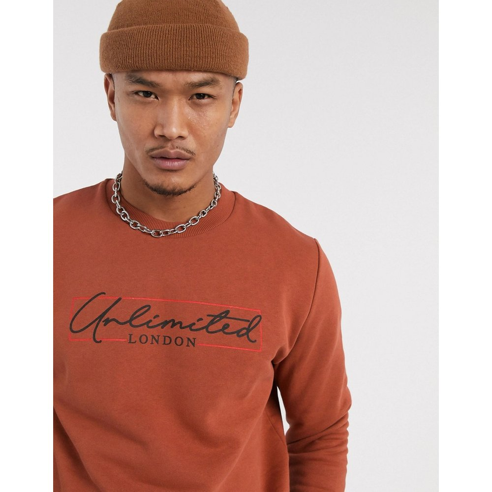Sweat-shirt à imprimé Unlimited - ASOS DESIGN - Modalova