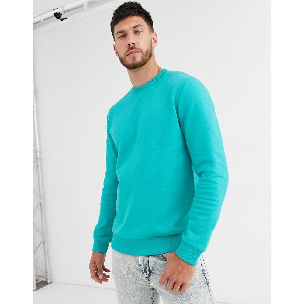 Sweat-shirt - Bleu - ASOS DESIGN - Modalova