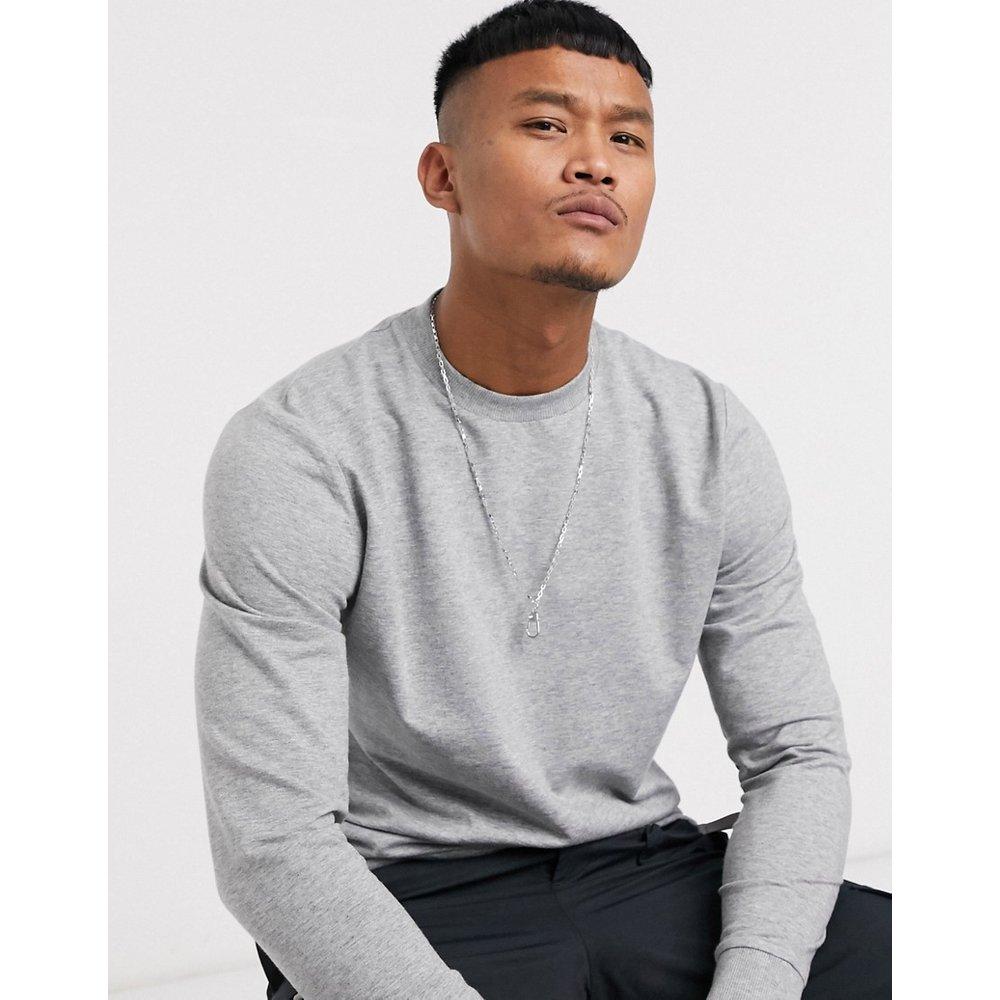 Sweat-shirt léger - chiné - ASOS DESIGN - Modalova