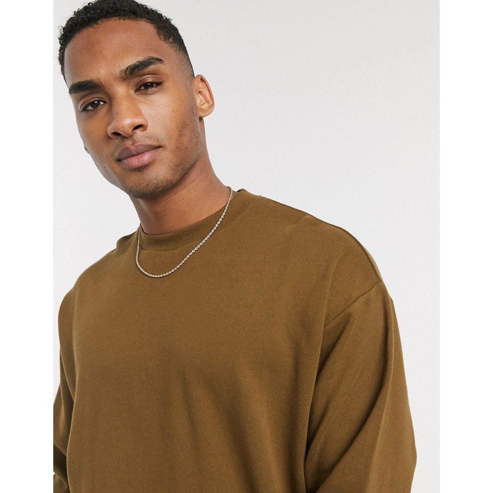 Sweat-shirt long oversize - vert - ASOS DESIGN - Modalova