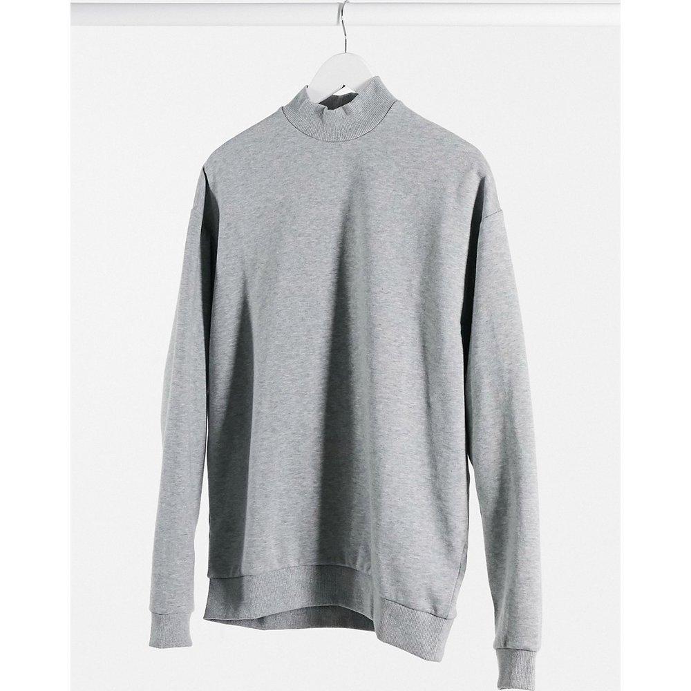 Sweat-shirt oversize à col montant - ASOS DESIGN - Modalova