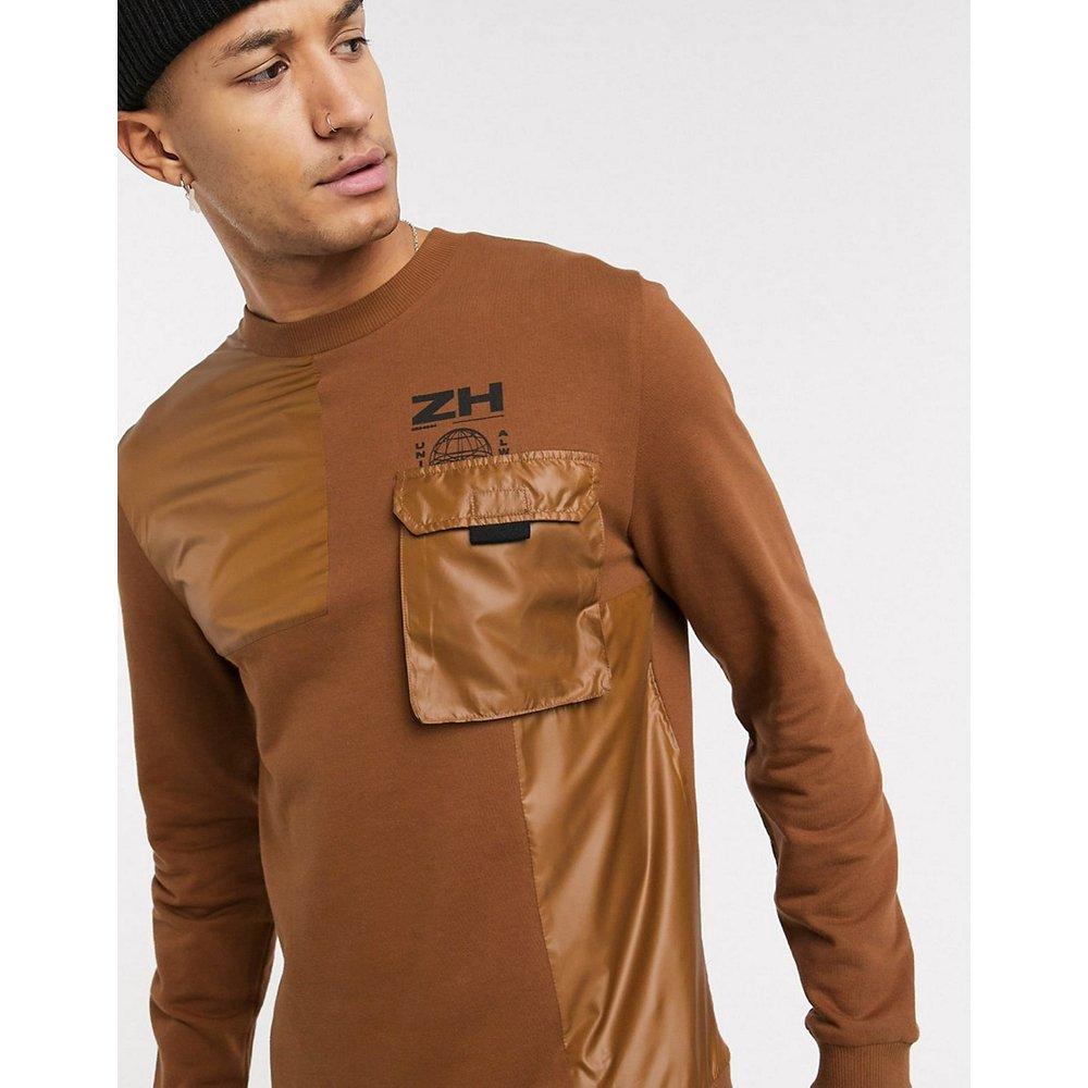 Sweat-shirt oversize avec détail fonctionnel (ensemble) - ASOS DESIGN - Modalova