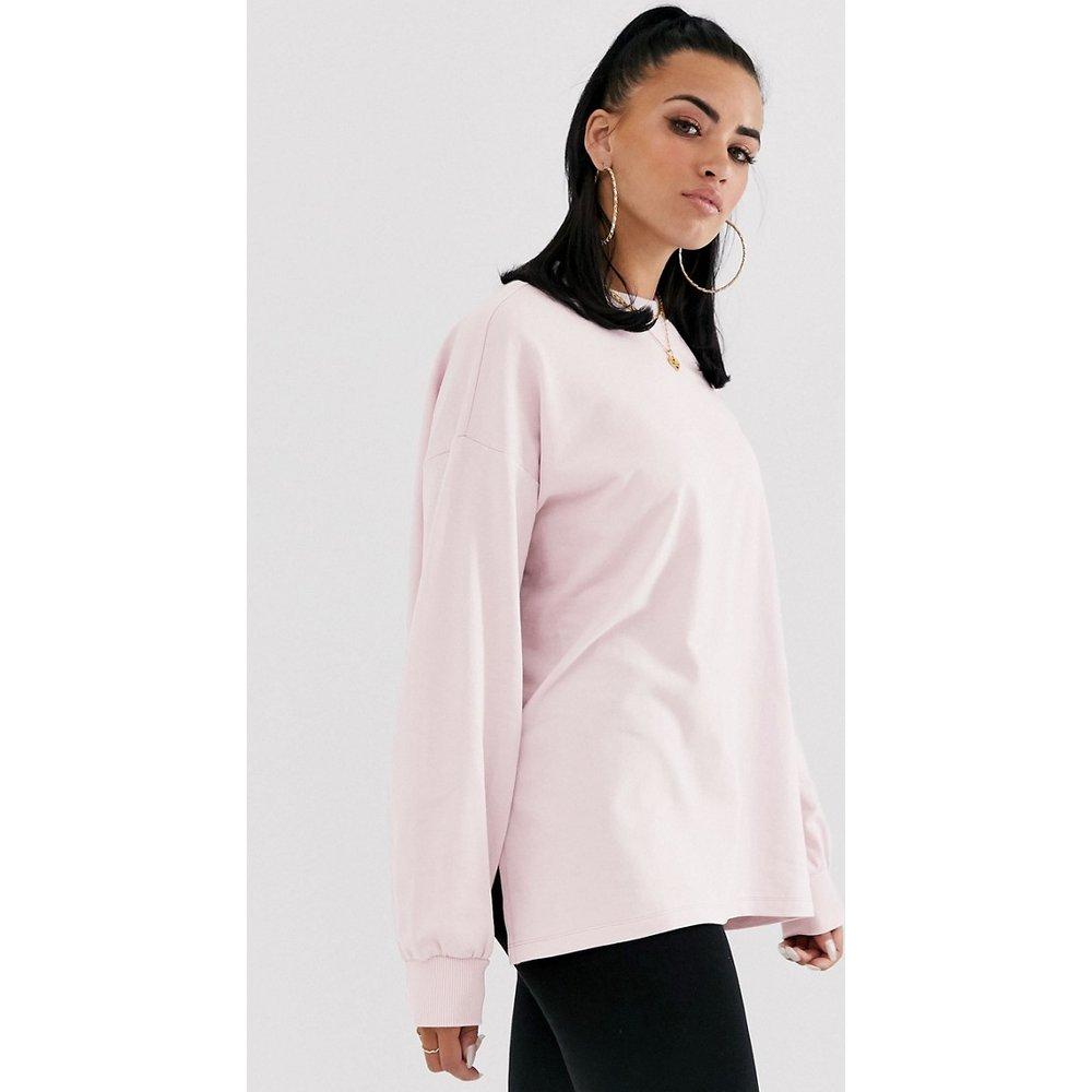 Sweat-shirt oversize léger - Lilas - ASOS DESIGN - Modalova