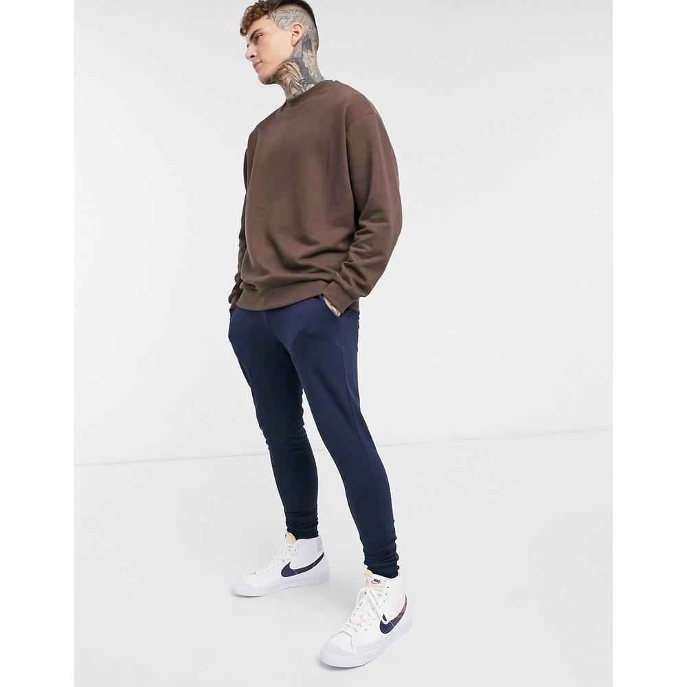 Sweat-shirt oversize - foncé - ASOS DESIGN - Modalova