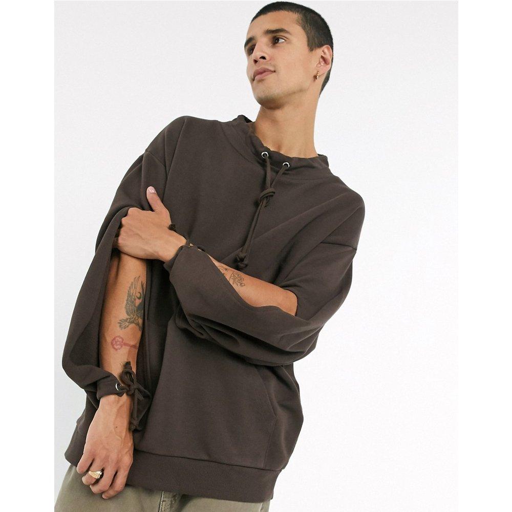 Sweat-shirt oversizeà col cheminée - ASOS DESIGN - Modalova