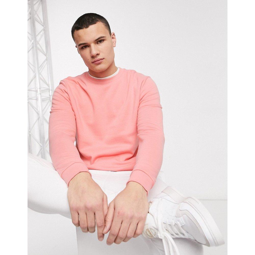 ASOS DESIGN - Sweat-shirt - Rose - ASOS DESIGN - Modalova