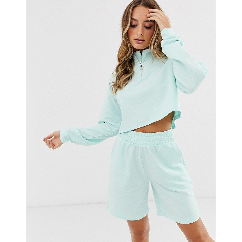 Sweat-shirt zippé et short confort - ASOS DESIGN - Modalova