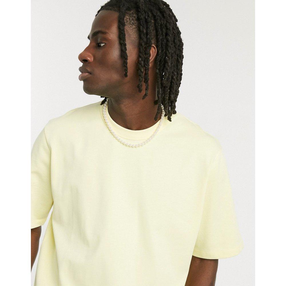 T-shirt ample épais - ASOS DESIGN - Modalova