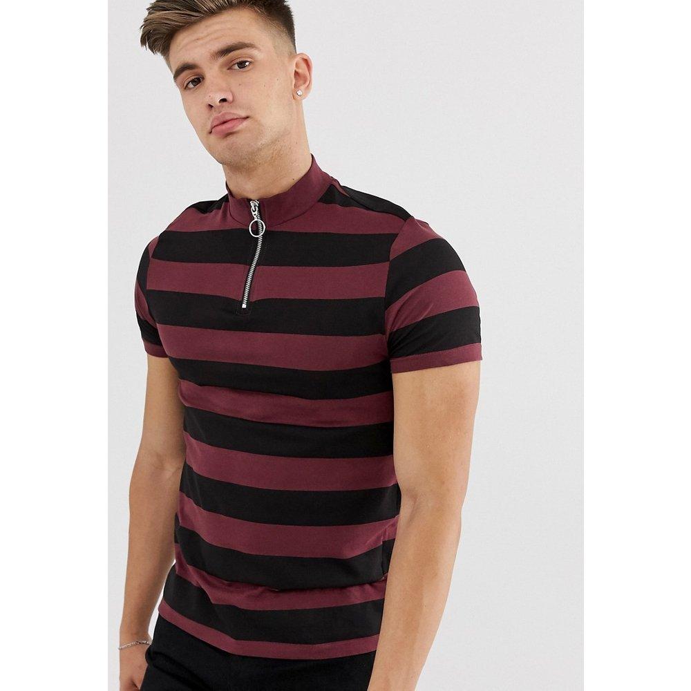 T-shirt col roulé à rayures - ASOS DESIGN - Modalova