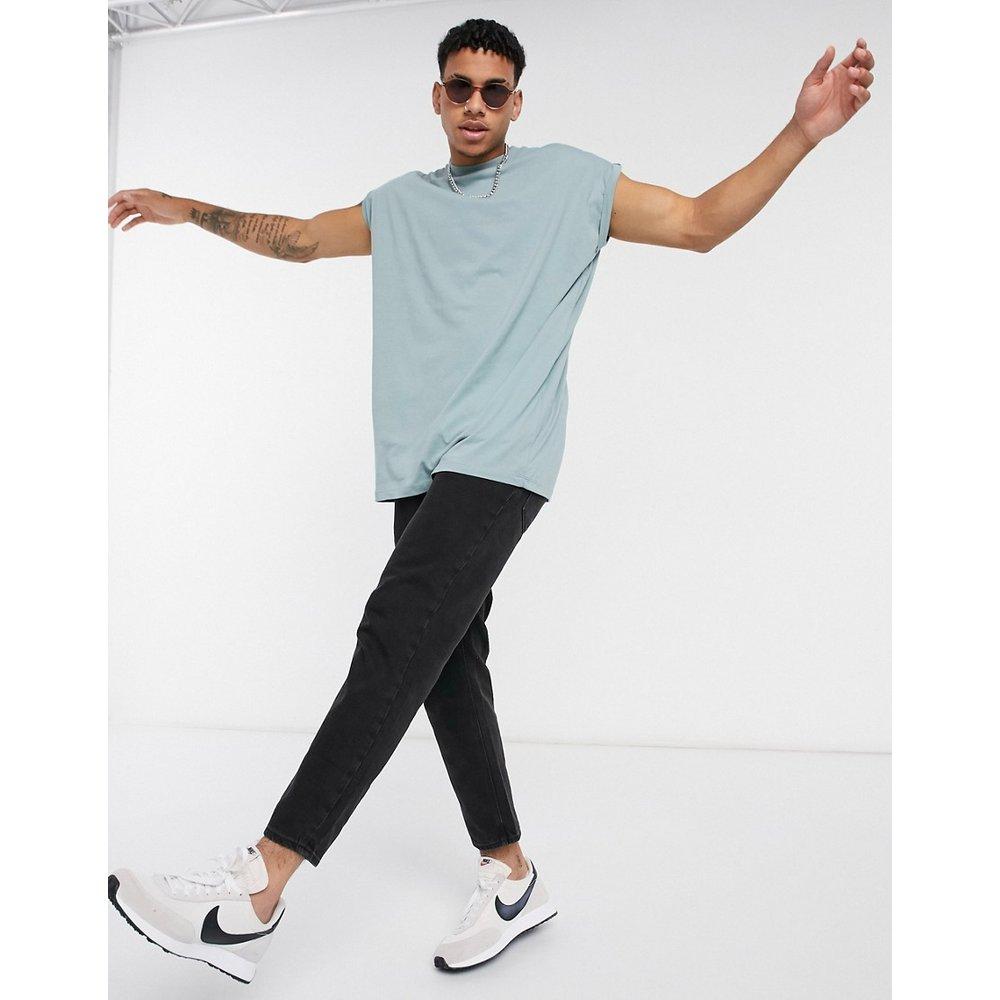 T-shirt long oversize à manches retroussées - ASOS DESIGN - Modalova