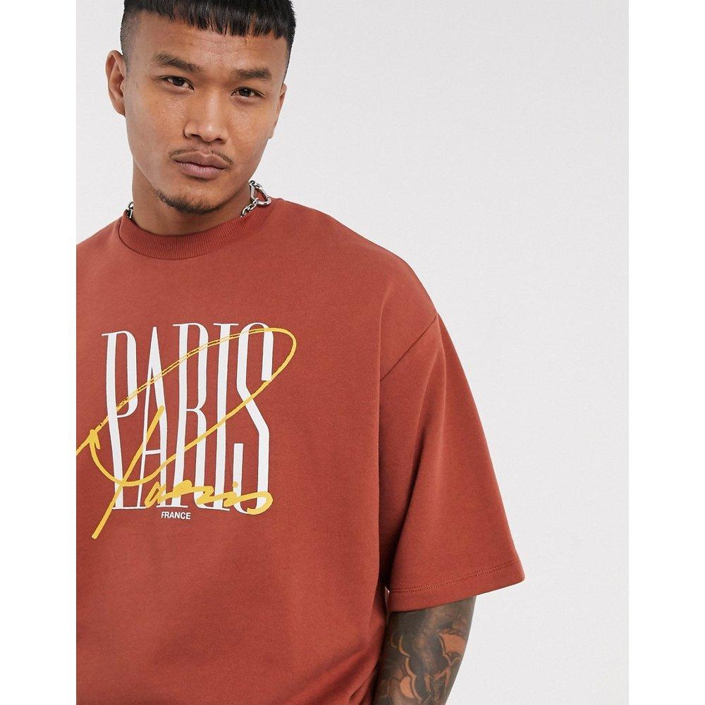 T-shirt très épais à imprimé Paris - ASOS DESIGN - Modalova