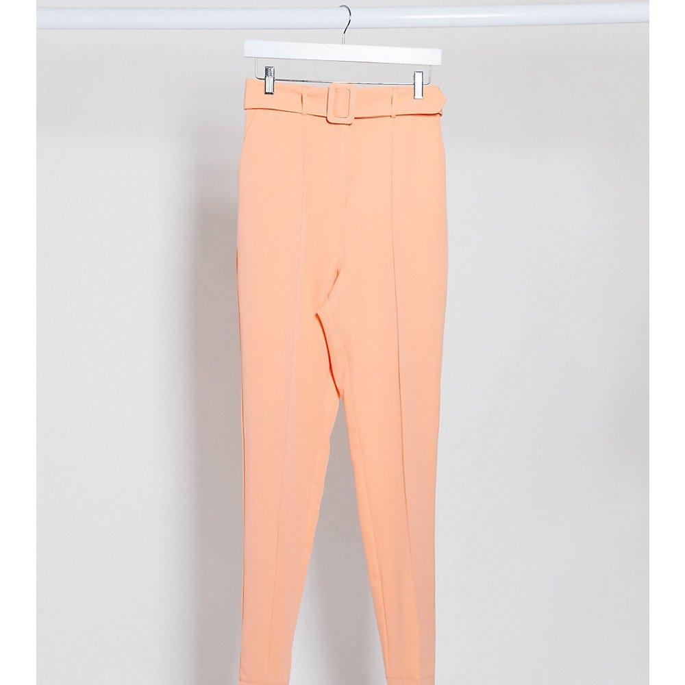 ASOS DESIGN Tall - Pantalon cigarette taille haute à ceinture - Pastel pop - ASOS Tall - Modalova