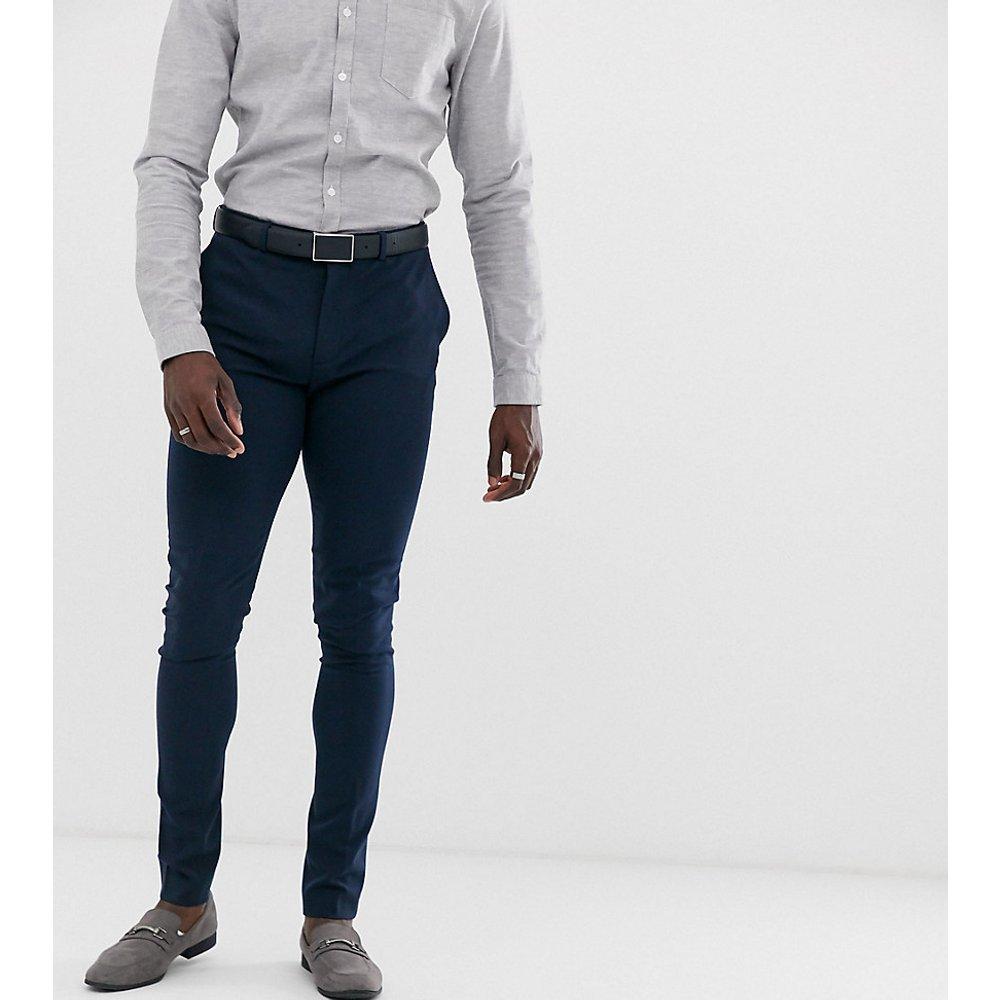 TALL - Pantalon de costume super skinny - Bleu marine - ASOS DESIGN - Modalova