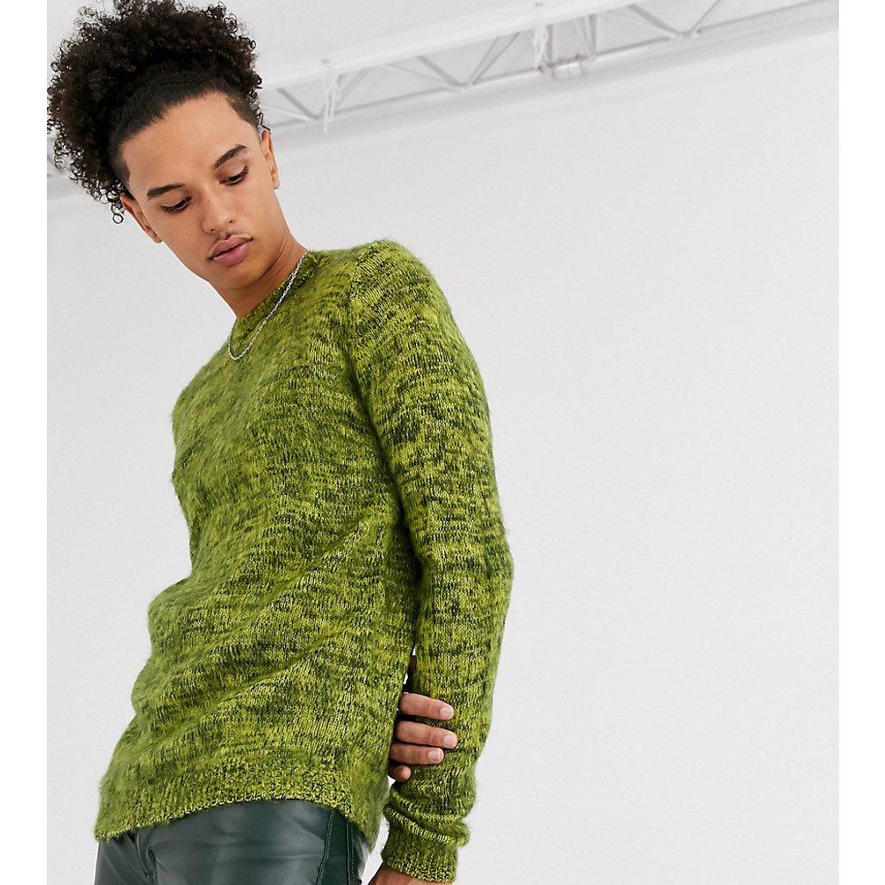 Tall - Pull duveteux en maille texturée - ASOS DESIGN - Modalova