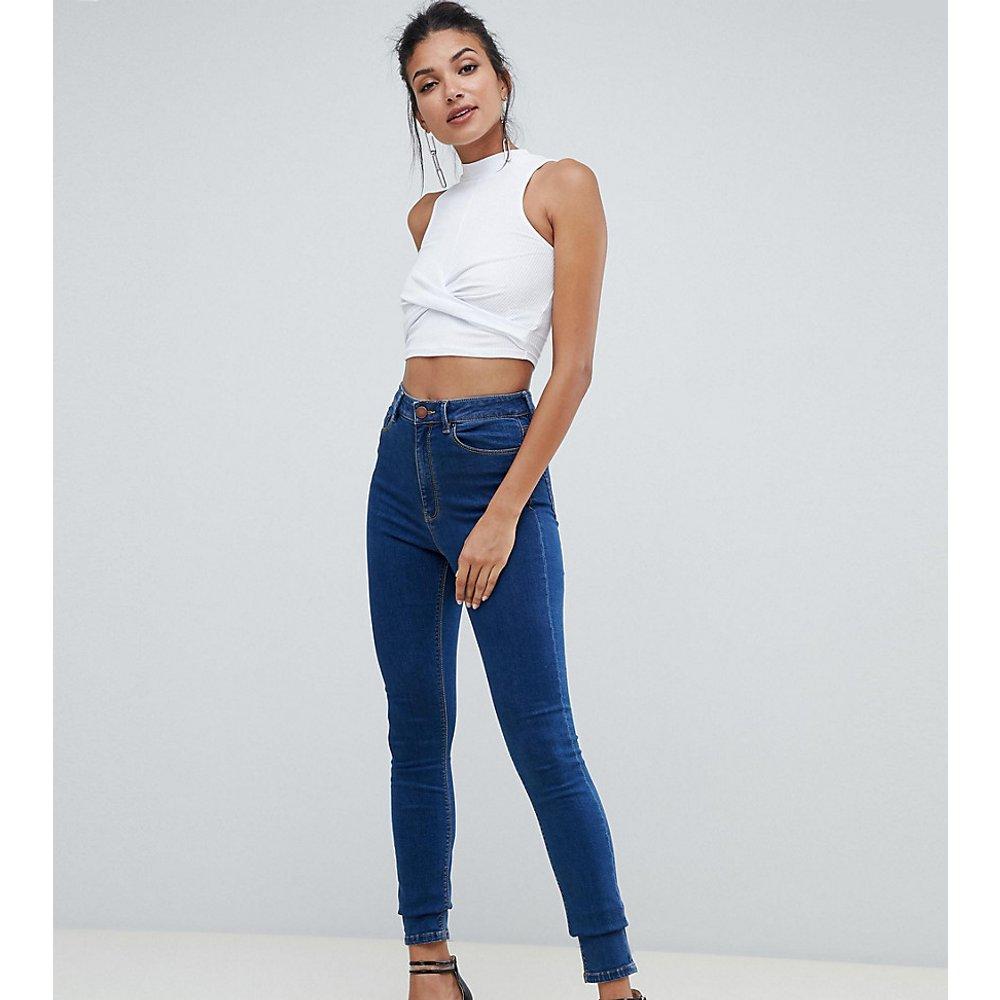 ASOS DESIGN Tall - Ridley - Jean skinny taille haute - délavé - ASOS Tall - Modalova