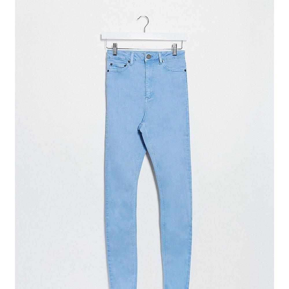 ASOS DESIGN Tall - Ridley- Jean skinny taille haute - Jacinthe des bois - ASOS Tall - Modalova