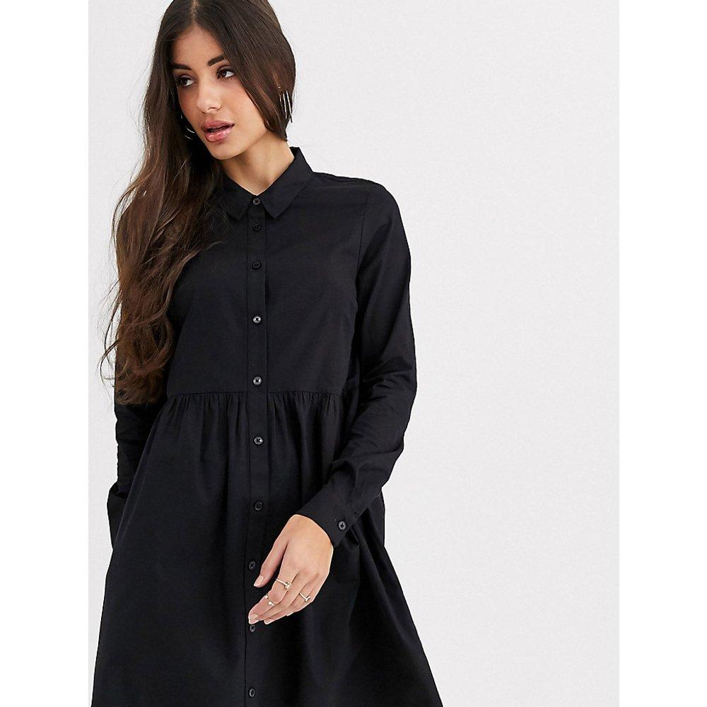 ASOS DESIGN Tall - Robe chemise courte en coton - ASOS Tall - Modalova