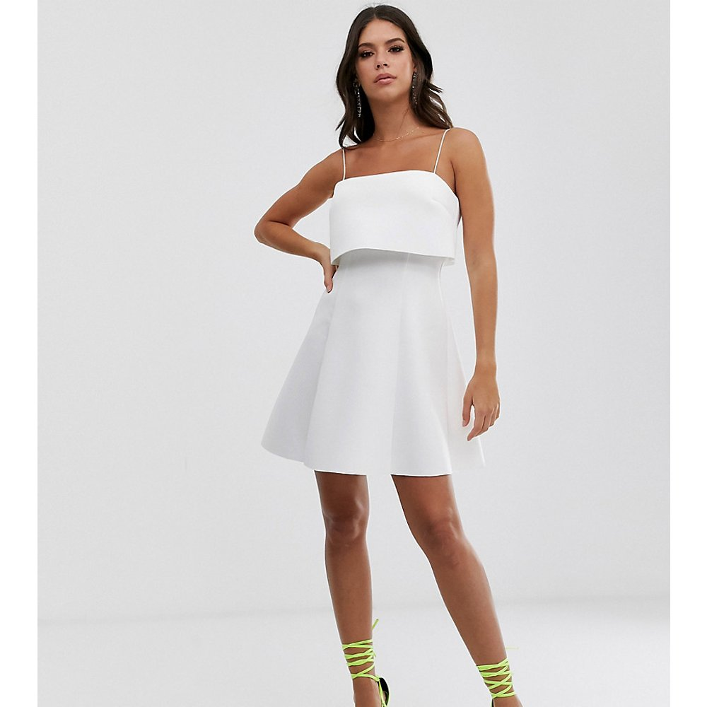 ASOS DESIGN Tall - Robe courte style patineuse avec crop top - ASOS Tall - Modalova