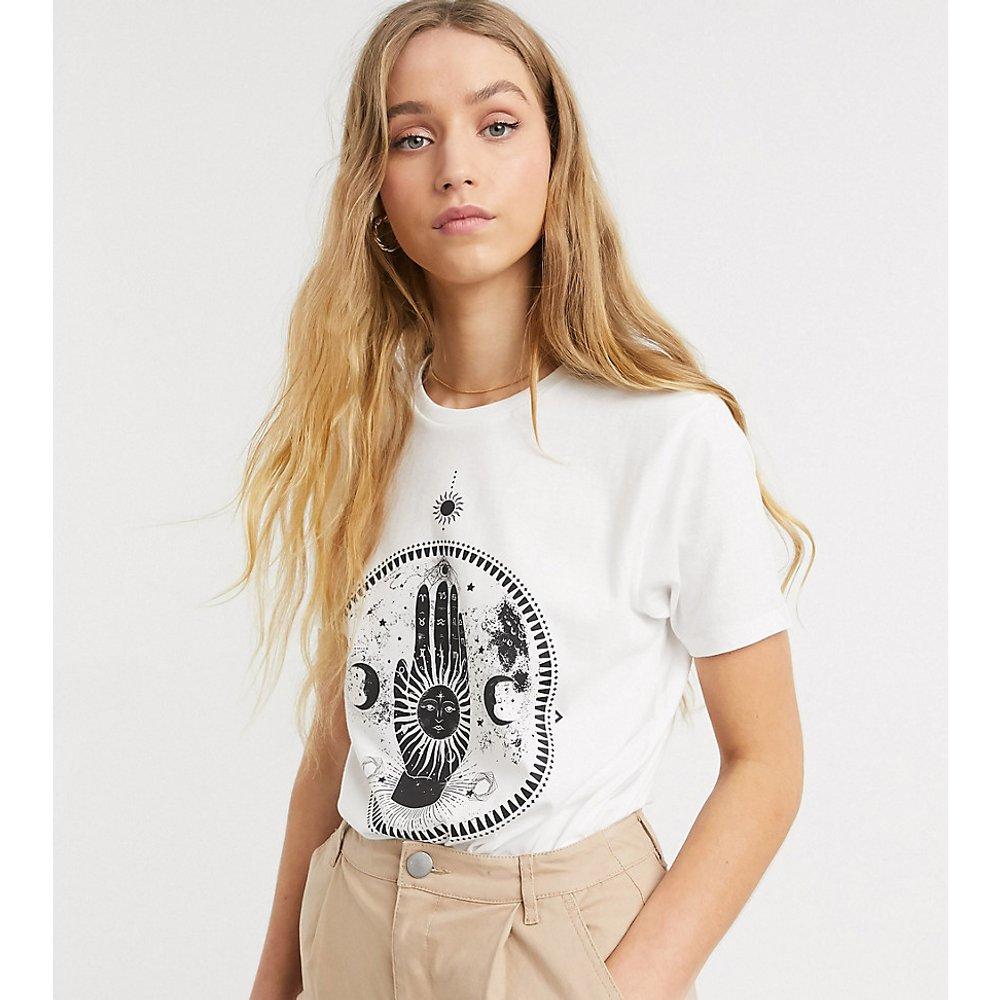 ASOS DESIGN Tall - T-shirt à imprimé signe astral lunaire - ASOS Tall - Modalova