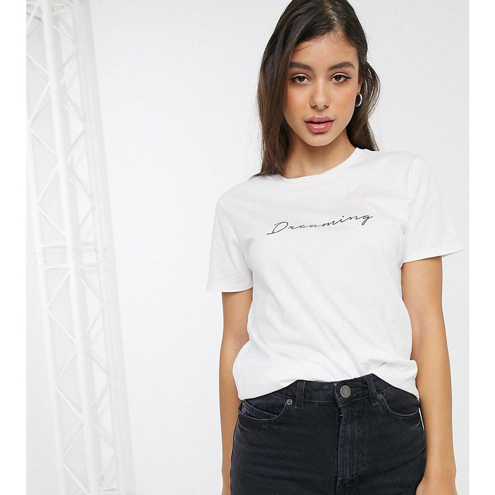 ASOS DESIGN Tall - T-shirt en coton biologique avec inscription Dreaming - ASOS Tall - Modalova