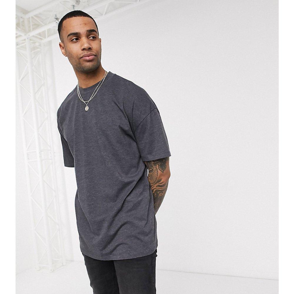 Tall - T-shirt ras de cou long oversize - ASOS DESIGN - Modalova
