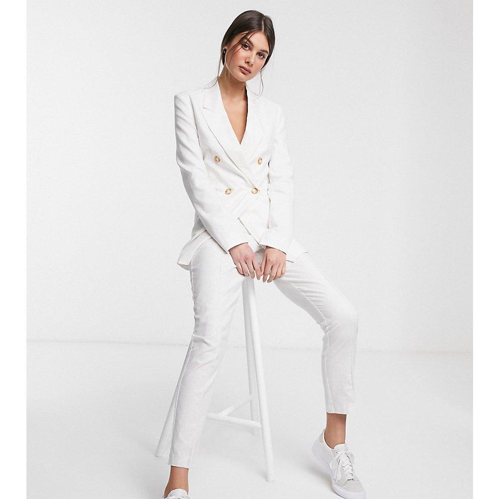 ASOS DESIGN Tall - Ultimate - Pantalon de costume en lin coupe cigarette - ASOS Tall - Modalova