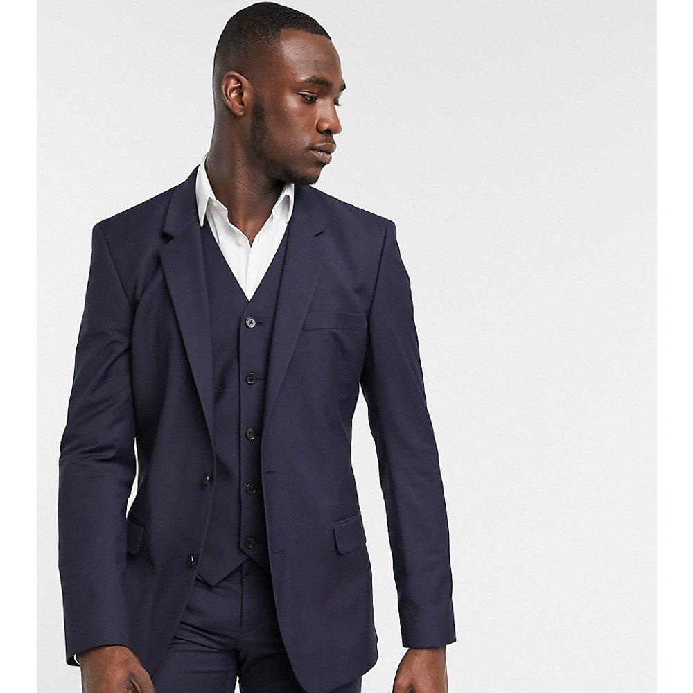 Tall - Veste de costume slim - Bleu marine - ASOS DESIGN - Modalova