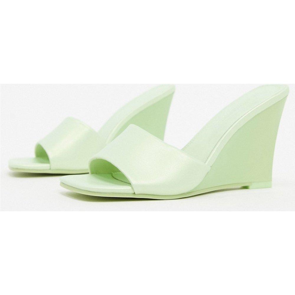 Tangle - Mules compensées - citron - ASOS DESIGN - Modalova