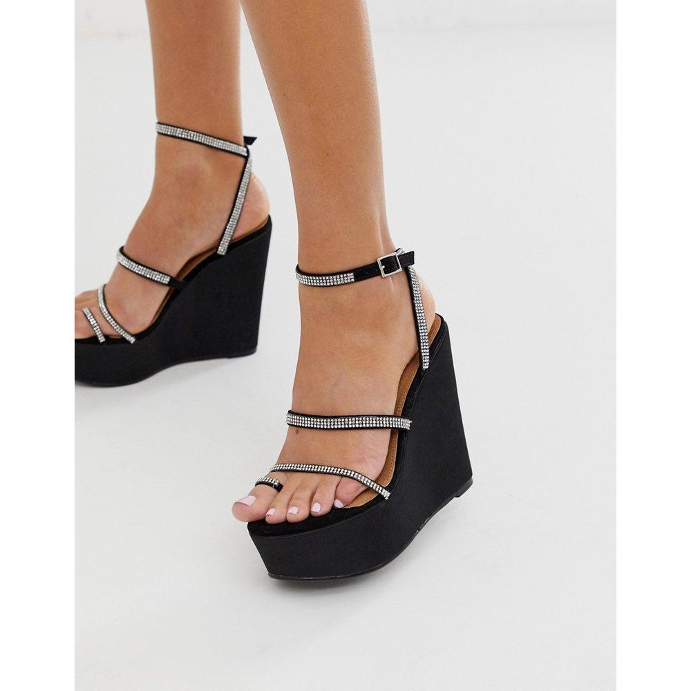 Tantalize - Chaussures compensées à entredoigt et ornements - ASOS DESIGN - Modalova