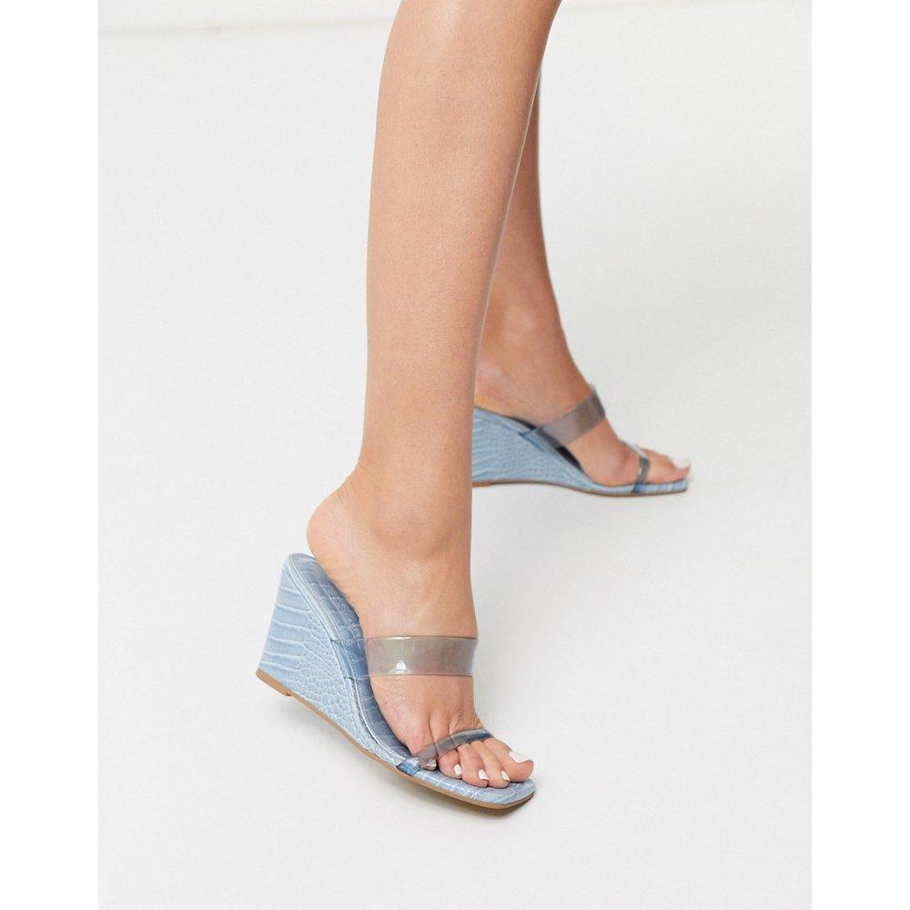 Tune - Chaussures compensées à bout carré - ASOS DESIGN - Modalova