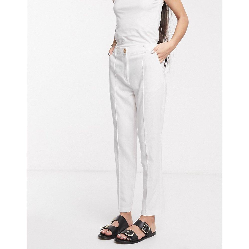 Ultimate - Pantalon de costume coupe cigarette en lin - ASOS DESIGN - Modalova