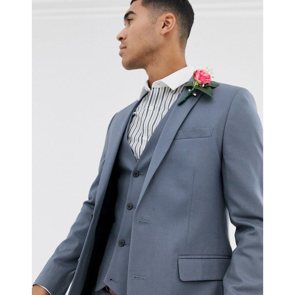 Veste de costume ajustée - ardoise - ASOS DESIGN - Modalova