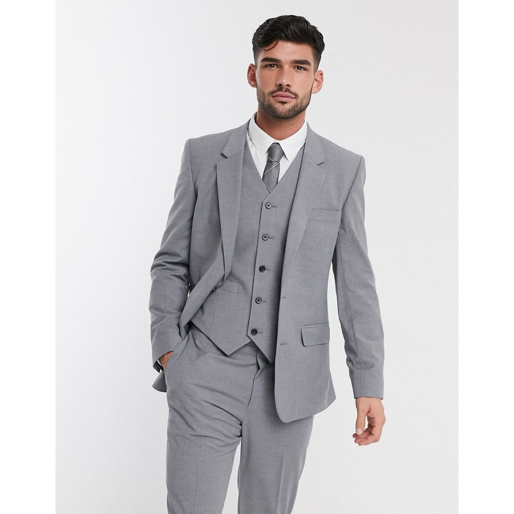 Veste de costume cintrée - moyen - ASOS DESIGN - Modalova