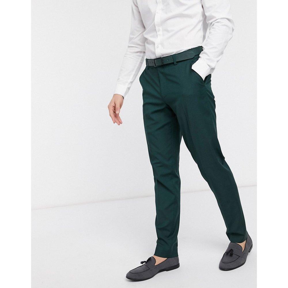 Wedding - Pantalon de costume slim - forêt - ASOS DESIGN - Modalova