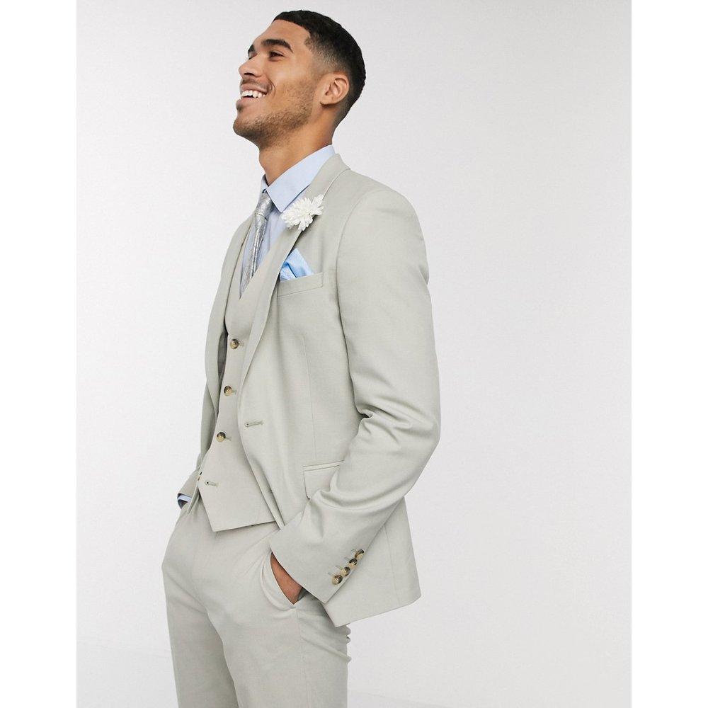 Wedding - Veste de costume ajustée - sauge - ASOS DESIGN - Modalova