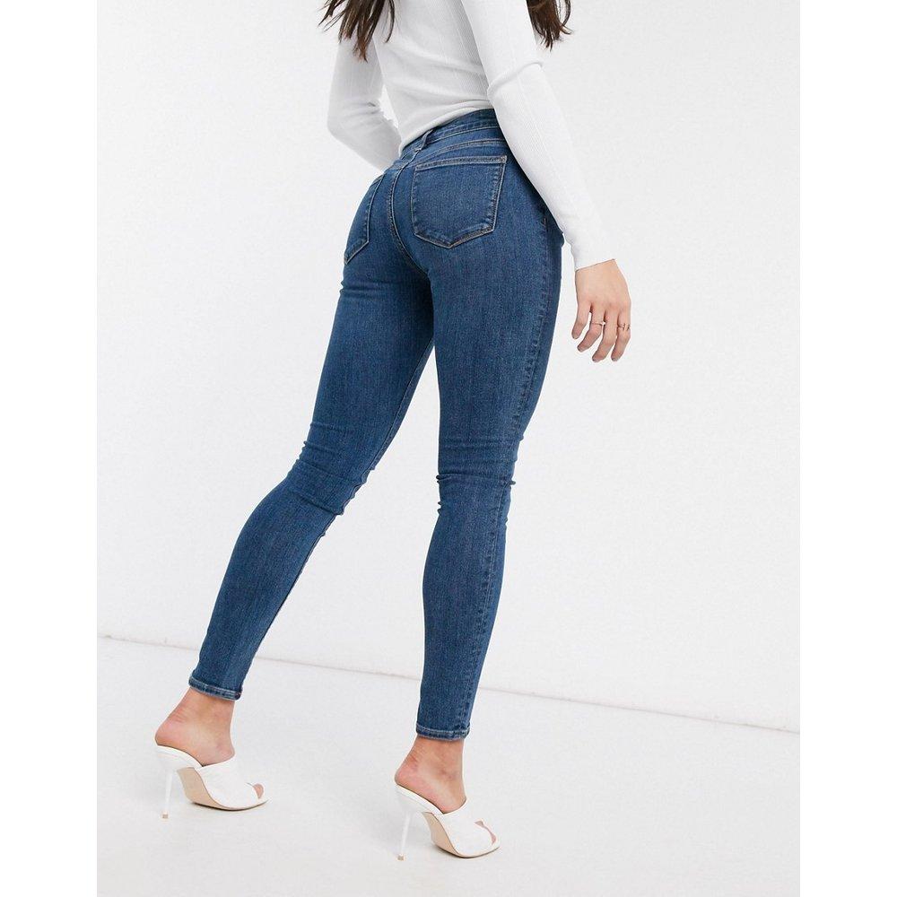 Whitby - Jean skinny taille basse - Délavage clair - ASOS DESIGN - Modalova