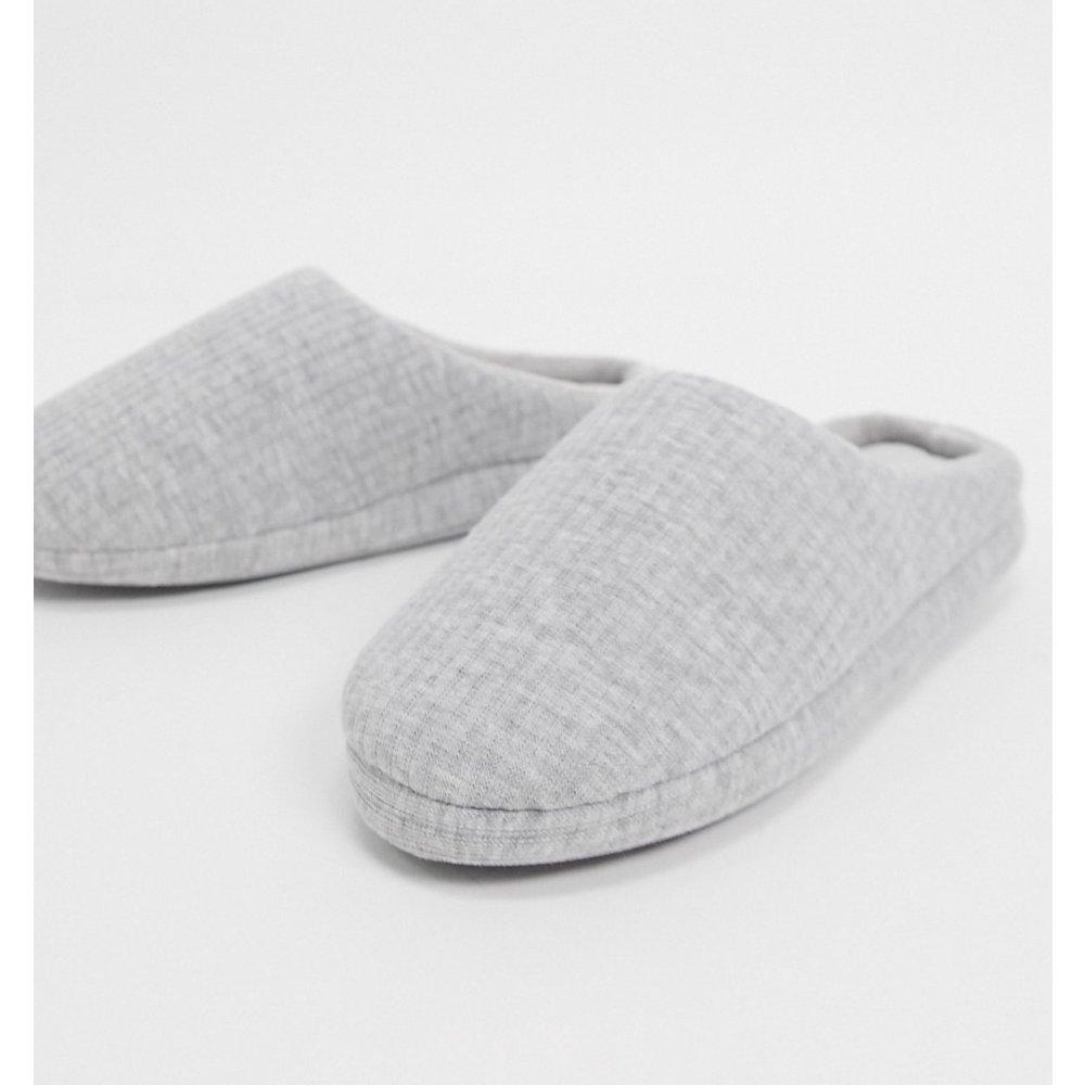 Zora- Mules style chaussons - chiné - ASOS DESIGN - Modalova