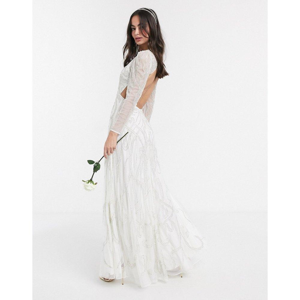 Charlotte Nouveau - Robe de mariée longue ornementée - ASOS EDITION - Modalova