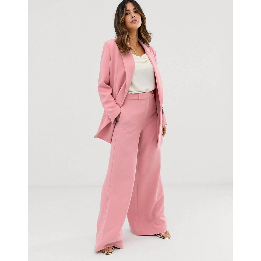 ASOS Edition - Pantalon large-Rose - ASOS EDITION - Modalova