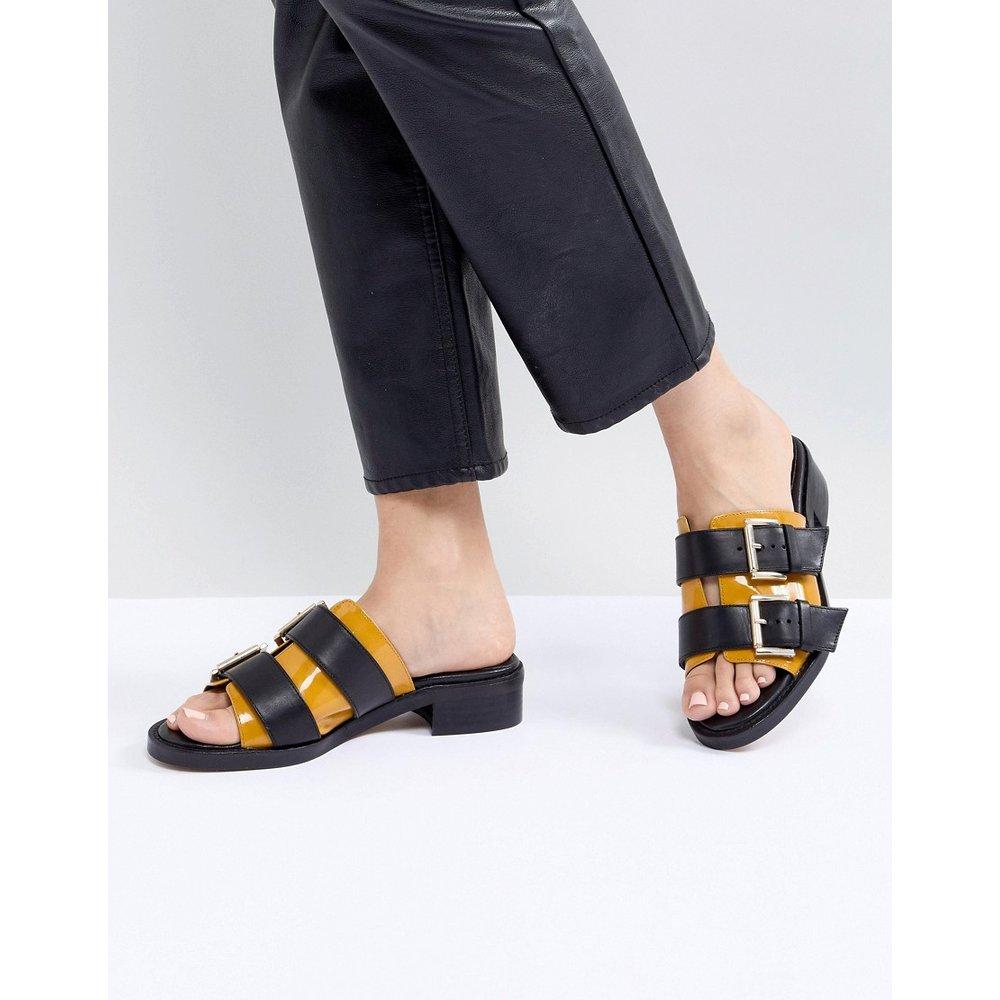 Marigold - Sandales épaisses en cuir - ASOS WHITE - Modalova