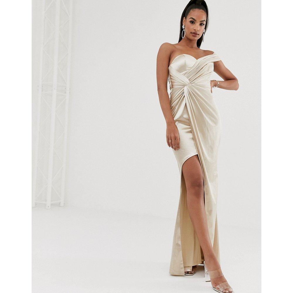 Robe asymétrique drapée - Bariano - Modalova