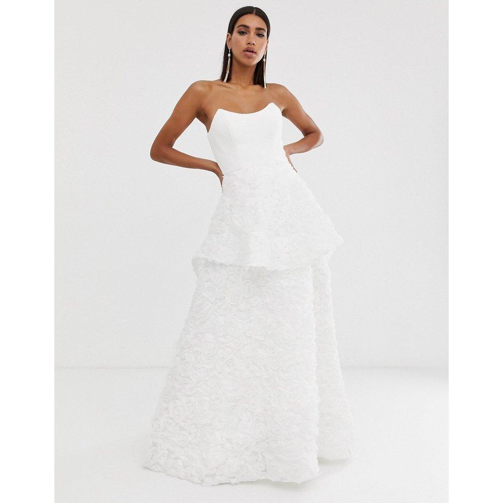 Robe de mariée à décolleté carré - Bariano - Modalova