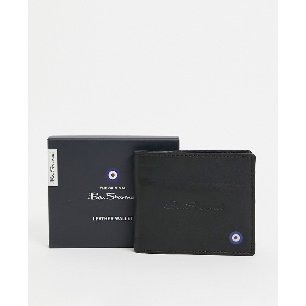 Portefeuille en cuir avec RFID - Ben Sherman - Modalova