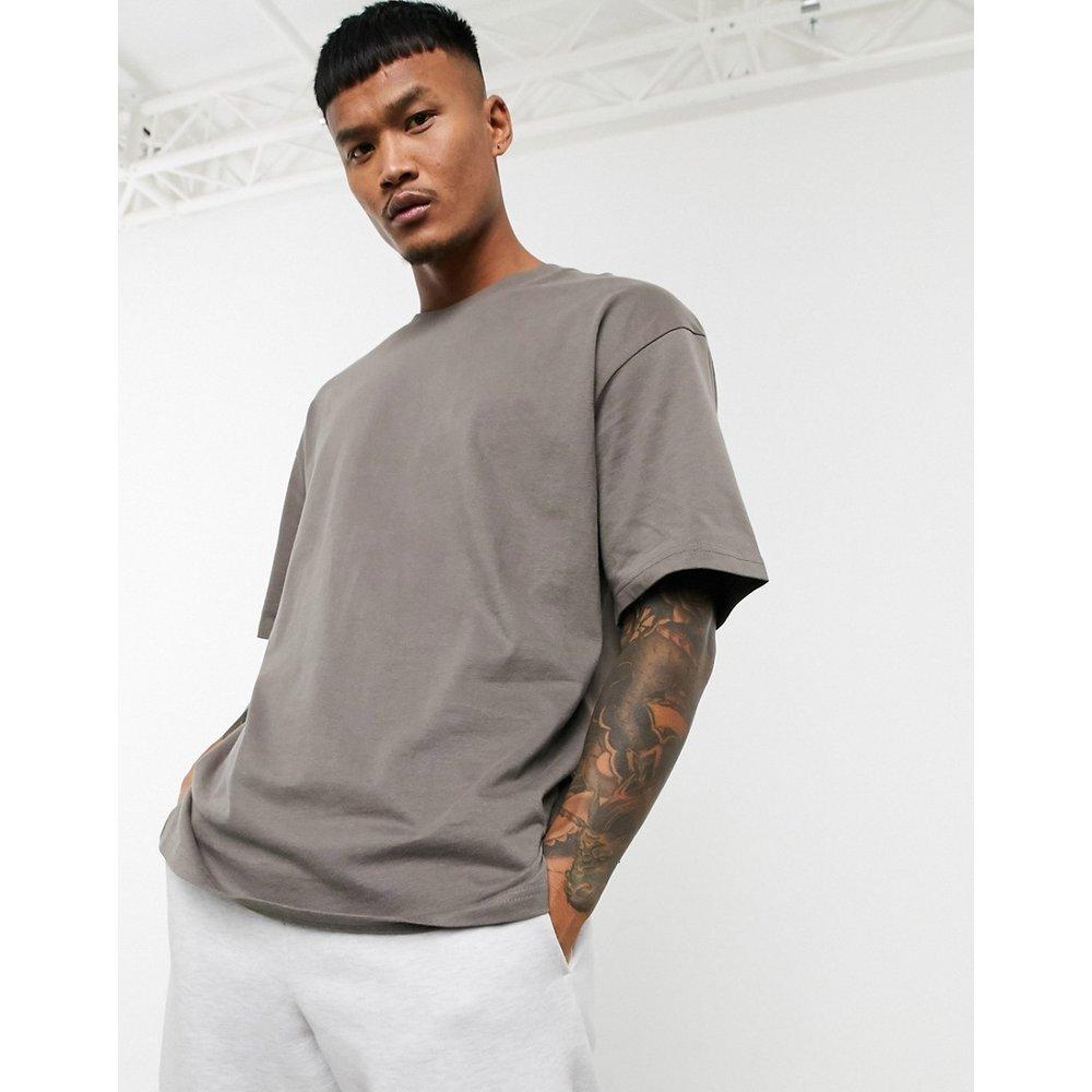 Join Life - T-shirt oversize - Taupe - Bershka - Modalova