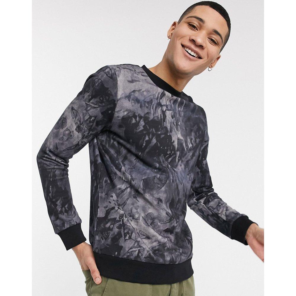 Waive - Sweat-shirt ras de cou imprimé - Boss - Modalova