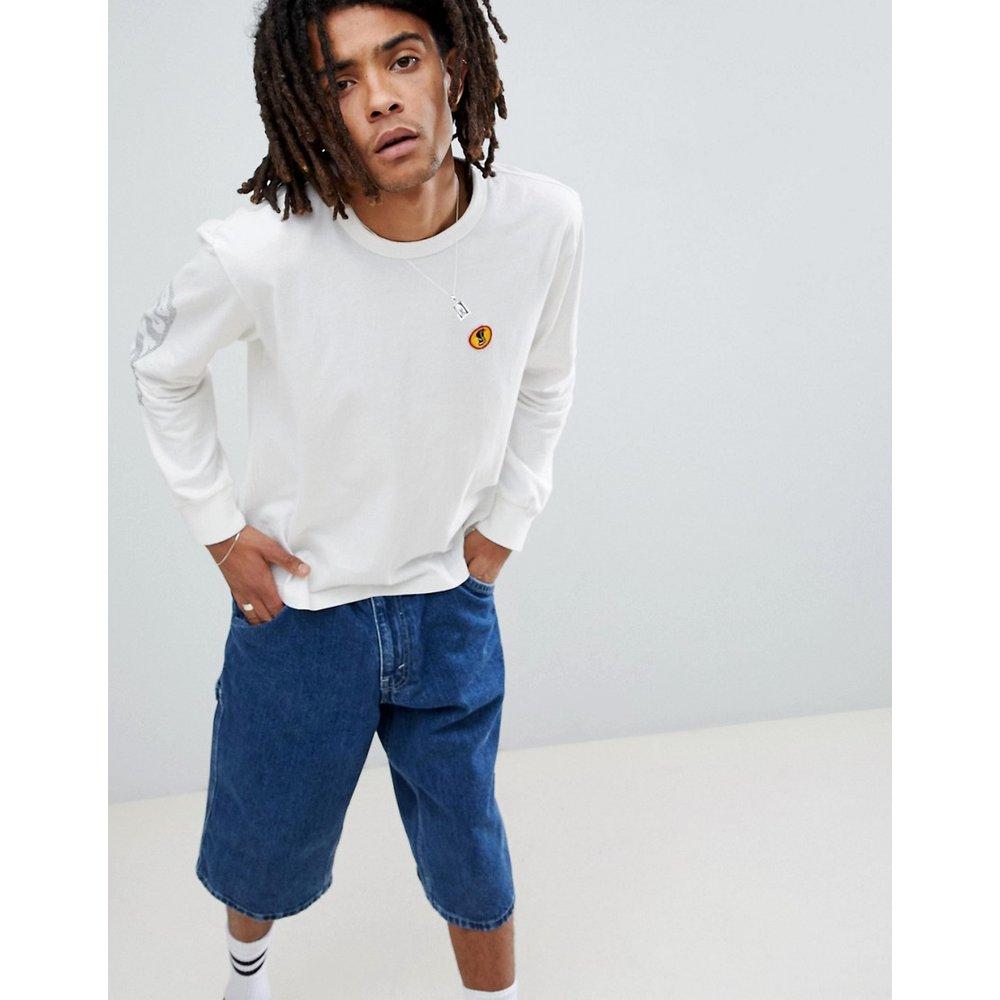 Fang - T-shirt à manches longues imprimées - brixton - Modalova