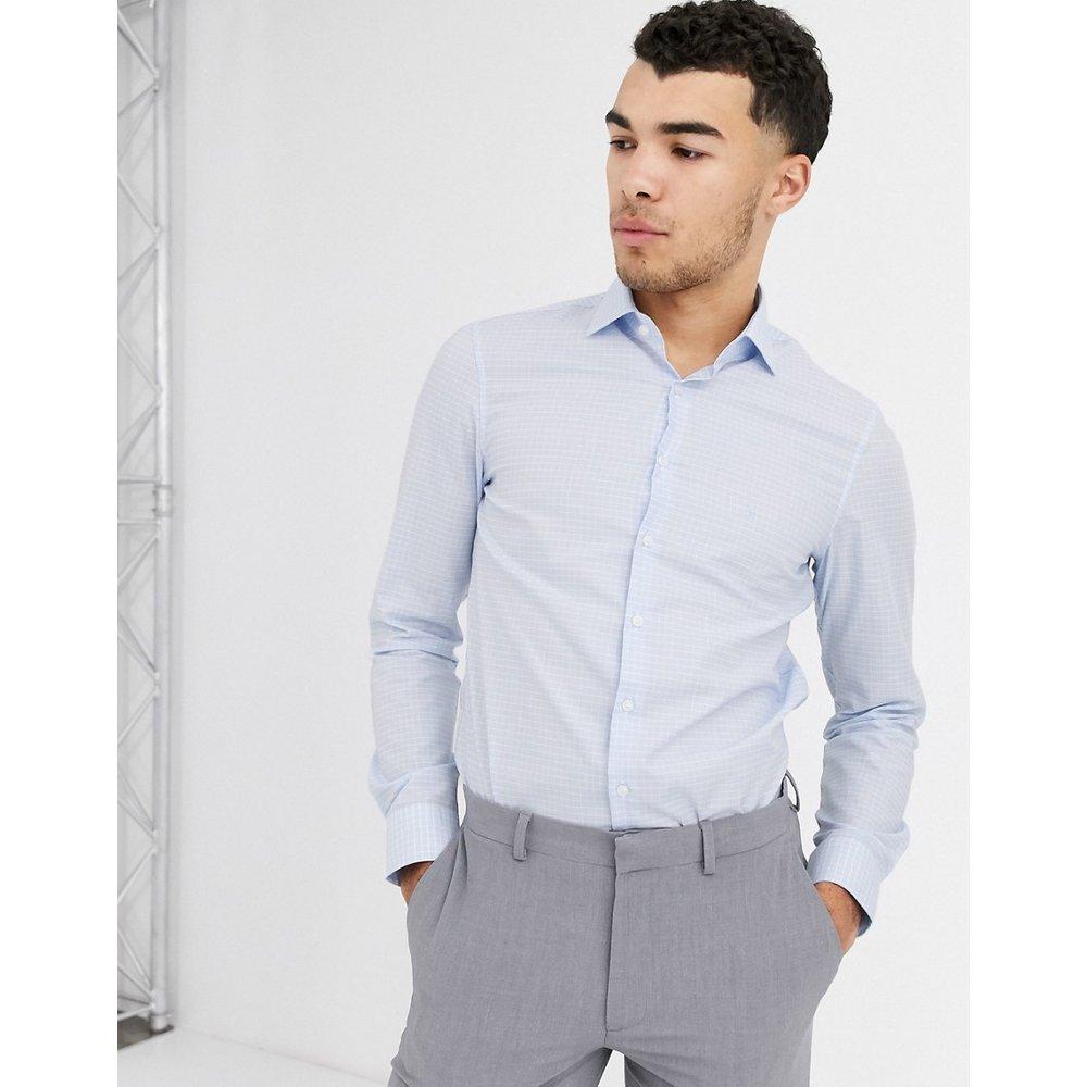 Chemise à carreaux repassage facile - Calvin Klein - Modalova
