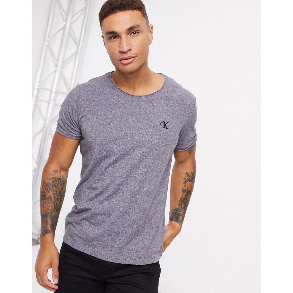 Grindle - T-shirt à bords bruts - Calvin Klein Jeans - Modalova